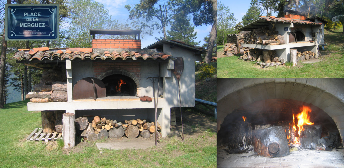 Wood oven and barbecue