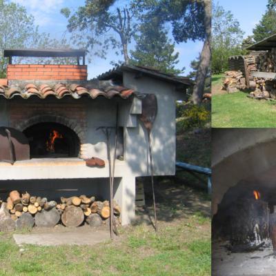 Four à bois et barbecue
