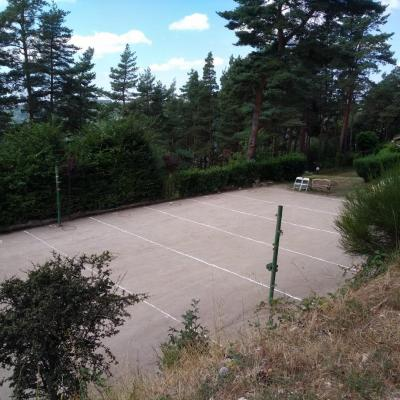 The petanque ground